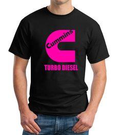 Pink Cummins Turbo Diesel