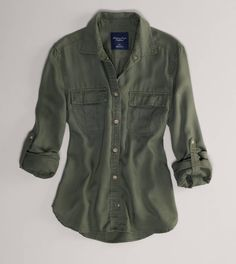 AE Girlfriend Shirt - Love this shirt so much! It's so soft in person.