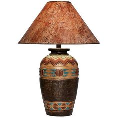 Wild West Handcrafted Southwest Table Lamp - #3N711 | LampsPlus.com