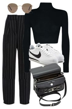 """Untitled #3350"" by camilae97 ❤ liked on Polyvore featuring Maiyet, NIKE, Proenza Schouler and Madewell"