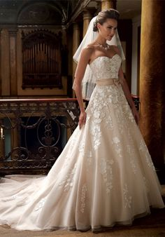 What a beautiful dress!  David Tutera (Hillary #213247) Sold at Country Bride in Bensalem and L Bridal on Bustleton Ave