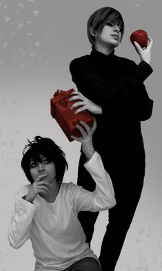 L & Light (Death Note) by *Rei-Suzuki. It's flawless O_O.