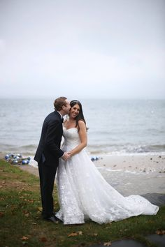 The bride and groom beach inspiration w/ Anthony Vazquez Photography