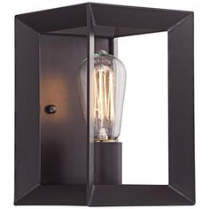 """Point View 8 3/4"""" High Oil Rubbed Bronze Wall Sconce"""
