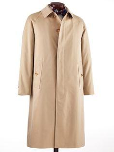 J. Press Cotton Twill Raincoat