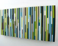 Etsy の Painting Abstract PaintingLarge by RusticModernDesigns