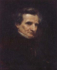 Gustave Courbet Portrait of Hector Berlioz