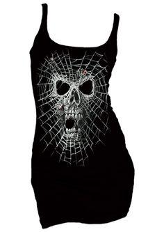 spider web dress