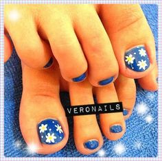 Veronails: Summery Pedi
