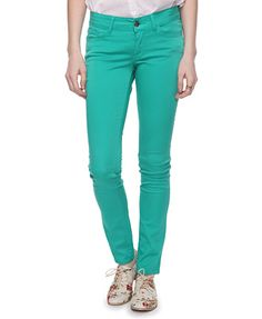 Thinking it is time that I stock up on some colored skinnies for spring/summer 2012...XXI has some great colors!