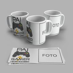 Diy Mugs, Tableware, Best Gifts, Personalized Mugs, Creative Gifts, Dinnerware, Tablewares, Dishes, Place Settings