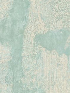 turquoise wallpaper... i really, really don't want wallpaper in the house... but ... i want this!