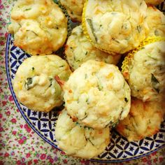 Courgette, sweetcorn and cheese muffins