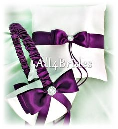 Hey, I found this really awesome Etsy listing at https://www.etsy.com/listing/188569713/deep-purple-wedding-ring-bearer-pillow