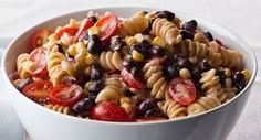Mexican Pasta Salad: Send taste buds south of the border with this lively pasta salad.