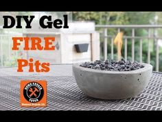How To Make A DIY Gel Fire Pit