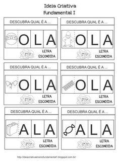 Atividade Interativa Consciência Fonológica Troca Letras Alfabetização PNAIC                                                                                                                                                     Mais