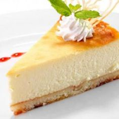 Mild Lemon Cheesecake: Tasty and Balanced Cheesecake Leger, Light Cheesecake, Tiramisu Cheesecake, Lemon Cheesecake Recipes, Healthy Cheesecake, Chocolate Cheesecake Recipes, Ww Desserts, Delicious Desserts, Dessert Recipes