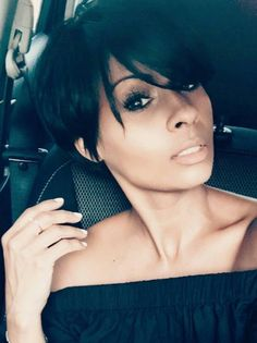 Cause i slay - Modern Short Pixie, Short Hair Cuts, Short Hair Styles, Natural Hair Styles, Short Shaggy Haircuts, Short Bob Hairstyles, Layered Haircuts, New Hair, Your Hair