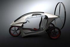 Paragliding motor trike concept