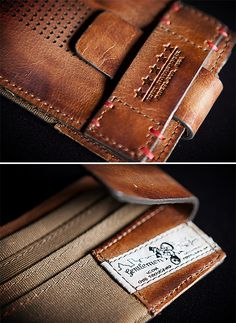 ICON 1000 Navigator Wallet…Badass Billy likes this wallet but Do Not Put It In… Leather Accessories, Fashion Accessories, Best Wallet, Leather Projects, Small Leather Goods, Leather Design, Leather Working, Leather Craft, Leather Men