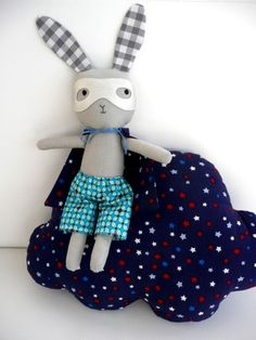superhero bunny Arthur