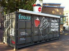 Container SA: Lanchonete Container: Um Negócio Portátil! (10 cases)