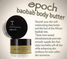 Authentic Nu skin nuskin Epoch Baobab Body Butter New. Body Shop Body Butter, Best Body Butter, Homemade Body Butter, Shea Body Butter, Anti Aging, Whipped Coconut Oil, Skin So Soft, Just For You, Blog