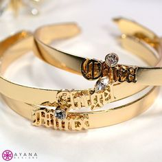 Rack 'em and stack 'em! #bling #AyanaDesigns #mystyle #love #layering #bangles #gold #bracelets