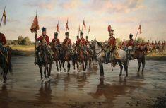 El Gran Capitán - Galería de Augusto Ferrer-Dalmau • Diego de León y sus Húsares