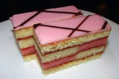 Cute Desserts, Wedding Desserts, Delicious Desserts, Hungarian Cake, Hungarian Recipes, Cookie Recipes, Dessert Recipes, Fab Cakes, Sweet And Salty