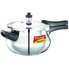 e42836228 Prestige Deluxe Plus Stainless Steel Pressure Cooker Mini Handi 3.3Litre  for offer sale online India.