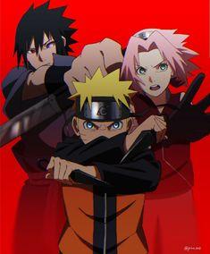 Sakura, Naruto, Sasuke Naruto Shippuden, Boruto, Sasuke, Team 7, Joker, Shit Happens, Anime, Fictional Characters, Twitter Link