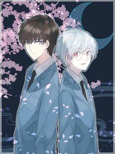 Cardcaptor Sakura | CLAMP | Madhouse / Kinomoto Touya and Tsukishiro Yukito / 「ccさくら」/「文春」の漫画 [pixiv] [05]