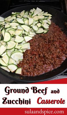 A casserole is classic comfort food, but hard to keep low carb. This zucchini and ground beef casserole satisfies both! Delicious and easy! #zucchinirecipe #zucchinicasserole #zucchinicasserolewithhamburger #zucchinicasserolelowcarb #cheesyzucchinicasserole Low Carb Keto, Low Carb Recipes, Zucchini Casserole, Ground Beef Casserole, Acai Bowl, Snacks, Meals, Breakfast, Classic