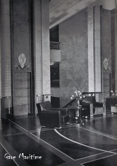 Normandie - Lobby and Lifts
