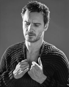 Michael Fassbender's Photo Shoot with 'The New York Times'