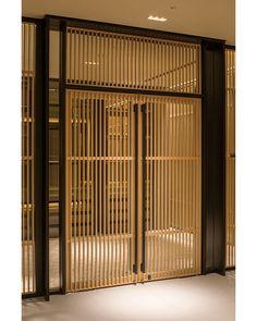 You Can Have Luxury and Detailed Furniture In A Hotel Door Front Door Images, Front Doors With Windows, Modern Front Door, Gate Design, Window Design, Door Design, House Design, Interior Exterior, Exterior Doors
