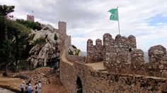 Castle of the moors in Portugal - Next Trip Tourism Portugal Tourism, Monument Valley, Castle, Nature, Travel, Naturaleza, Viajes, Traveling, Natural