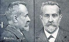 """Alphonse BERTILLON (1853-1914) - """"Photographie Métrique"""""""