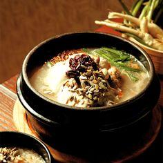 남한산성 닭죽