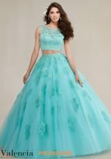 Chic Aqua Two Piece Quinceanera Dresses 2016 Sheer Neck Beaded Appliqes Tulle Lace Ball Gown Sweet 16 Princess Dresses Lace Ball Gowns, Ball Gown Dresses, 15 Dresses, Nice Dresses, Two Piece Quinceanera Dresses, Mori Lee Quinceanera Dresses, Tulle Lace, Lace Dress, Top Y Pollera