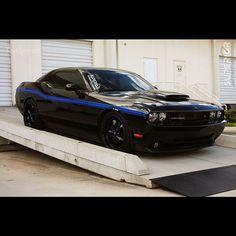 Dodge Challenger custom muscle car