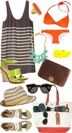 vacation essentials from sequins & stripes blog