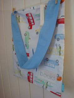 Transport Print Library Bag