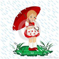 niña con paraguas - Buscar con Google