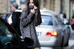 Elisabetta Di Maso | MFW Fall/Winter 2015-2016 Street Style