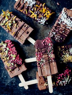Fudgesicles were a mainstay in the freezer of my childhood, and my go-to sugar fix if the cookie jar was empty. Since we've been blessed here in Copenhagen with a warm spring and early start to the summer season, day after day of blue skies and sundresses has jumpstarted my summer food fantasies. I felt …