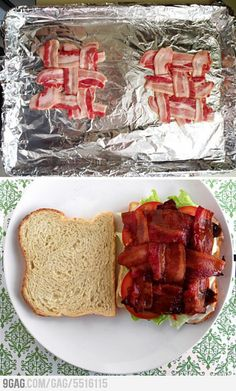 Criss-Cross Bacon