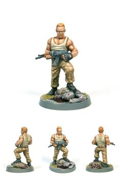 Today we're highlighting some of the great The Walking Dead: All Out War miniatures painted by the Mantic Games community.